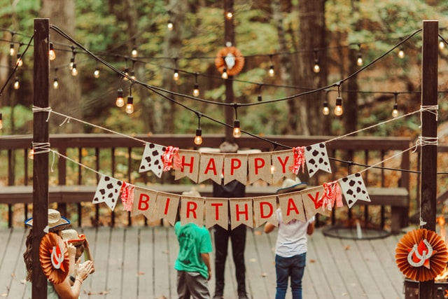 Creative birthday parties for child